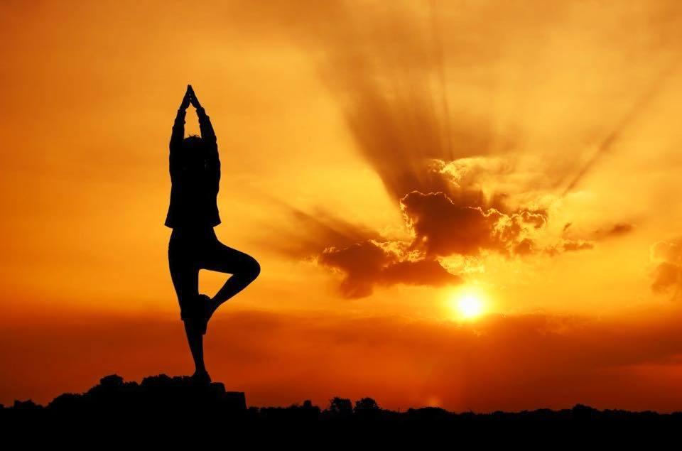 yoga sui tetti