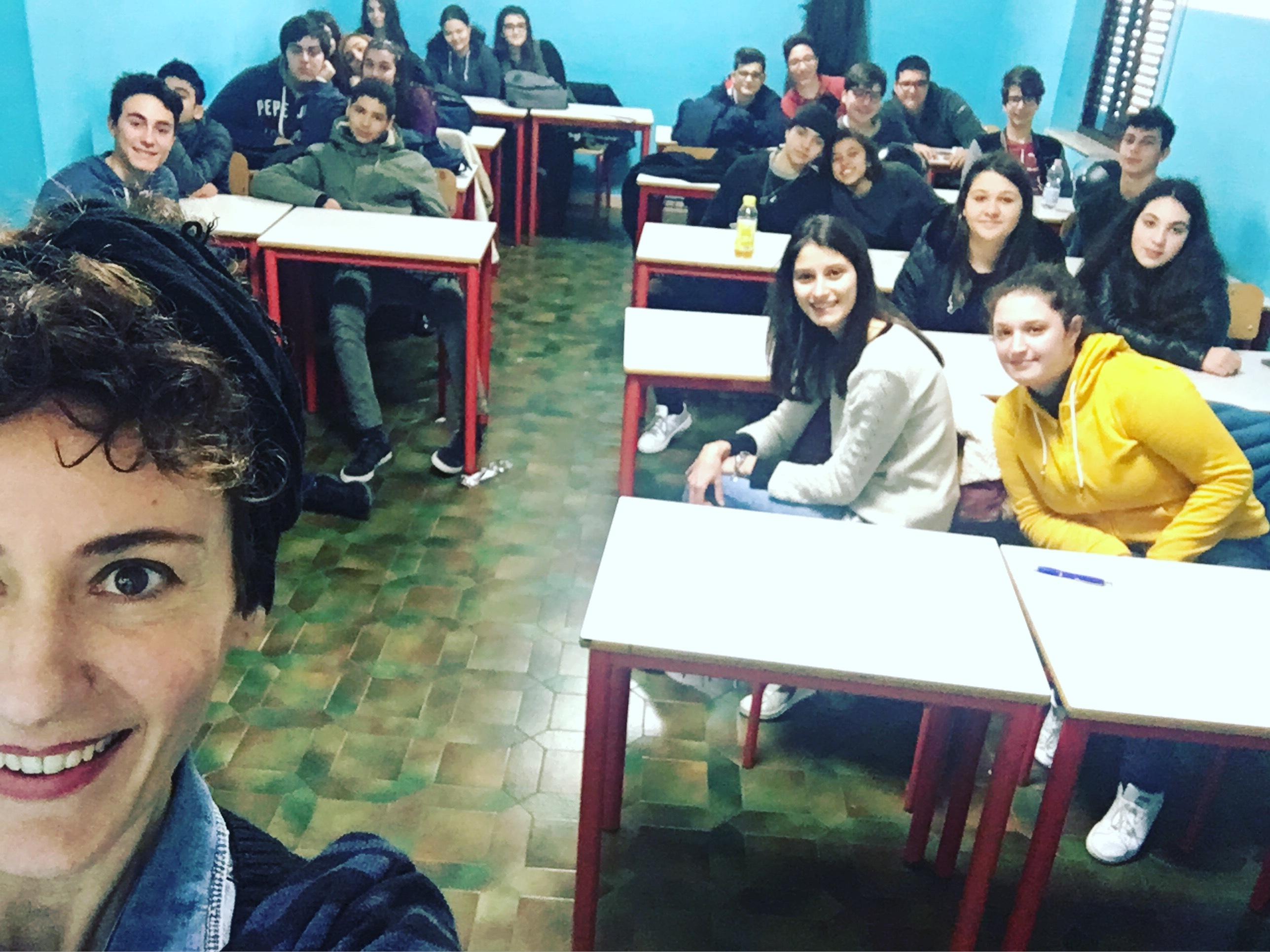 selfie scuola